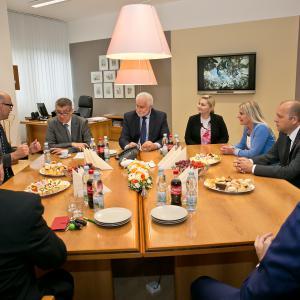Návštěva ministra financí Andreje Babiše
